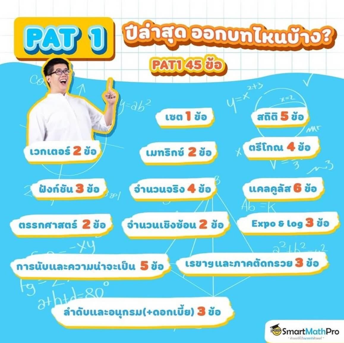 PAT1 คืออะไร? ปี 2565 ออกอะไรบ้าง? พร้อมคลิปติวข้อสอบและเทคนิคจากพี่ปั้น